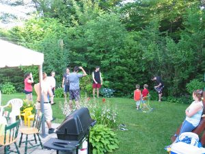 BBQ 2011 in Bachand lab