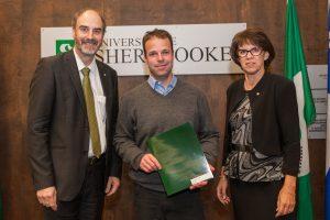 Prix de la Recherche et Création Université de Sherbrooke Francois Bachand