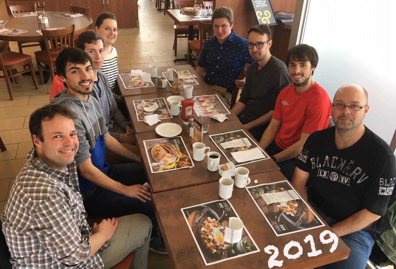Bruch with Bachand lab